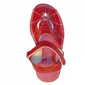 Imagen Spiderman Avarca - Menorquina piel niño Spiderman Talla 25